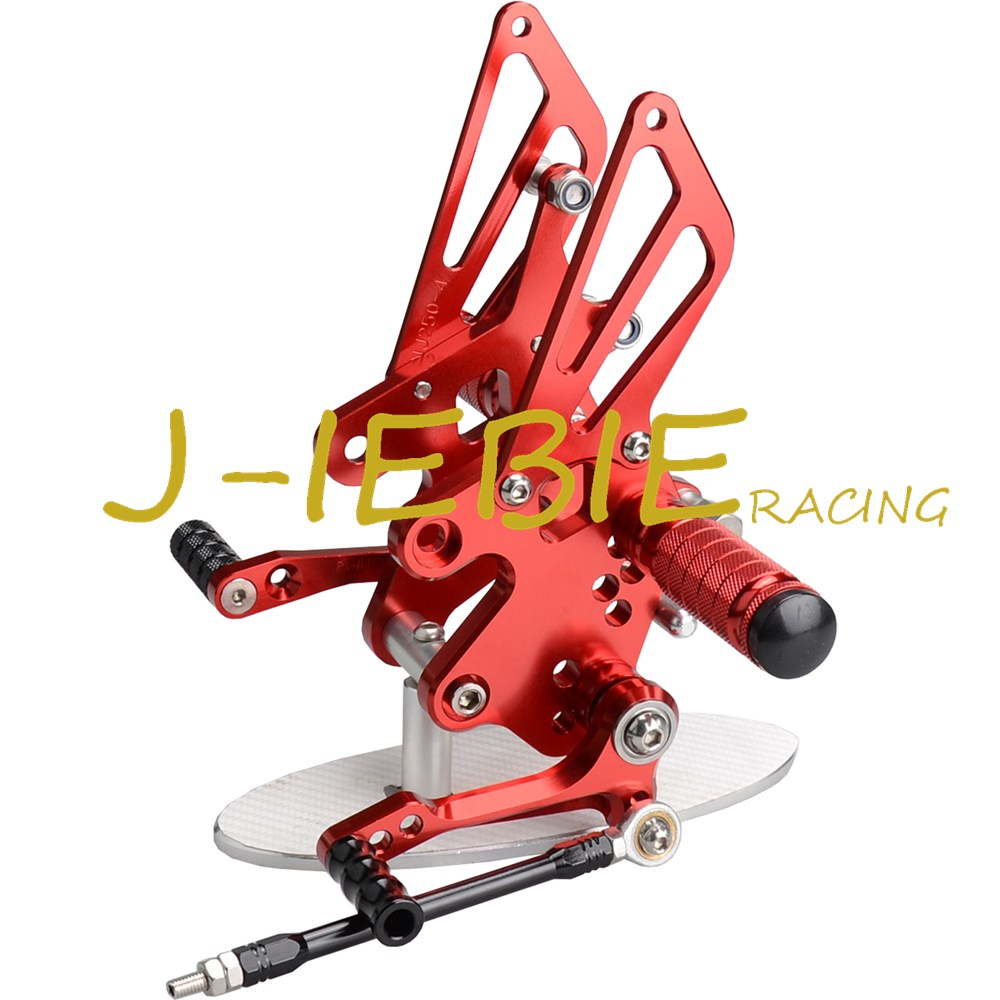 CNC Racing Rearset Adjustable Rear Sets Foot pegs For Kawasaki NINJA EX250 250R 2008 2009 2010 2011 2012 RED morais r the hundred foot journey