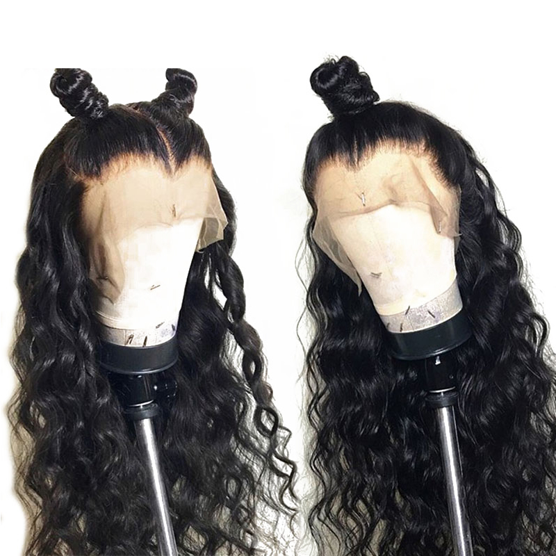 UEENLY Wig Lace-Front-Wigs Human-Hair Deep-Wave Pre-Plucked Brazilian with Baby Loose