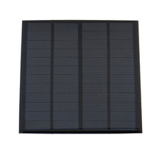3W 12V Mini Solar Panel DIY Polysilicon Charger for Home Office Outdoor Activity LB88