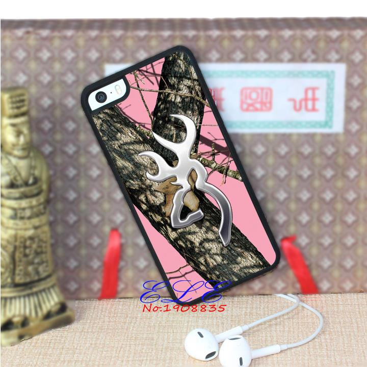 the Tree Browning Cutter Logo Pink Camo phone case cover for iphone 4 4s 5 5s se 5c 4 4s 5 5s s