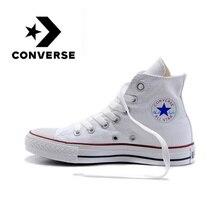 Converse Оригинальные кроссовки, Классическая, «унисекс» Классическая Тканевая обувь на Скейтбординг визуальное увеличение роста спортивная обувь для мужчин и женщин;