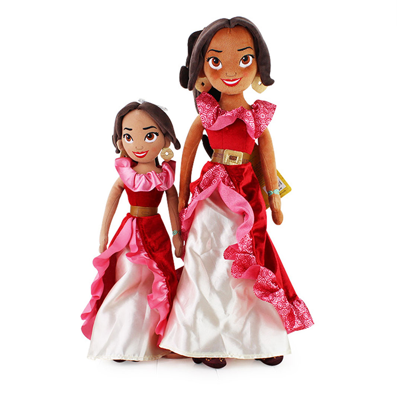 40cm 50cm Elena of Avalor Original Plush cotton Toys Elena Princess Figure Plush Doll Kids Best