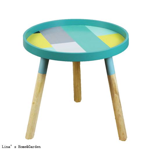 Knock Down Round 3 Legs Europe Modern Small Round Wooden Side Table In Coffee  Tables From Furniture On Aliexpress.com | Alibaba Group