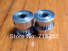 free shipping 5pcs 20-GT2-6 timing pulley GT2 20 tooth 6mm belt width 5mm bore