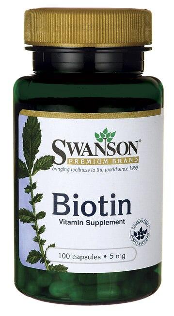 Biotin Vitamin Supplement 5mg 100 capsules Free shipping dong quai 530 mg traditional herb for women 100 capsules free shipping