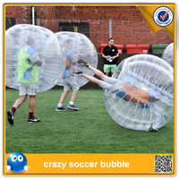 Free shipping!! Inflatable human bumper bubbleball soccer toys, loopy ball for outdoor fun sports,body zorb ball toy