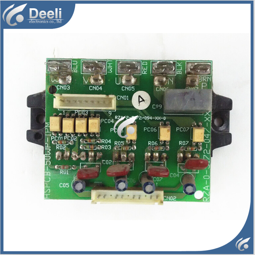 90% new good working for air conditioning Computer board HSPCB-50WP-IPM RZA-2-5172-094-XX-0 module good working usb 3 x aaa powered vibrating muscles electric massager blue
