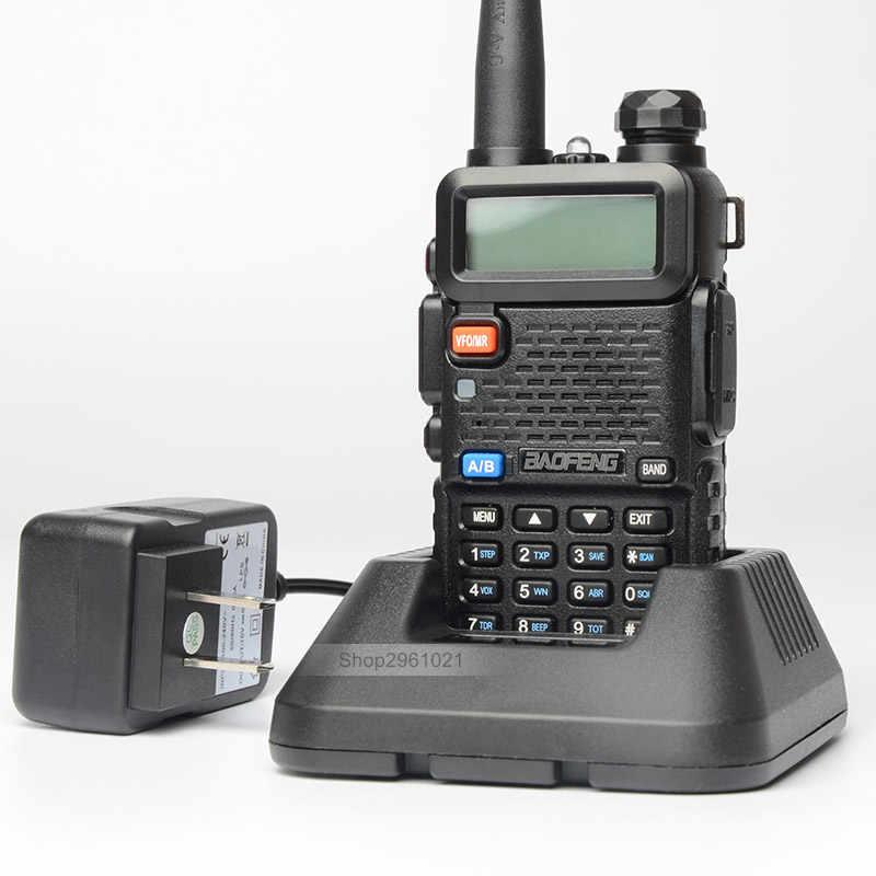 6 шт./лот Baofeng UV-5R рации двухдиапазонный УКВ Портативный рация двусторонней радиолюбителей трансивер UV5R 2 рации