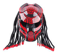 DOT Carbon Fiber Motorcycle Helmet Full Face Iron Warrior Man Helmets Motor