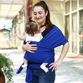 2016 New Baby Sling Elástico Wrap Carrier Dois Ombros Mochila Confortável Algodão Hipseat Bebê Canguru Mochila