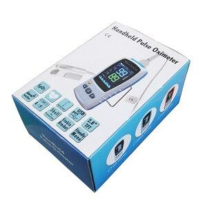 Image 5 - 2.8 TFT LCD אנדרואיד iOS Bluetooth4.0 כף יד דופק Oximeter ילוד תינוק ילד מבוגרים spo2 חיישן מטופל צג דופק