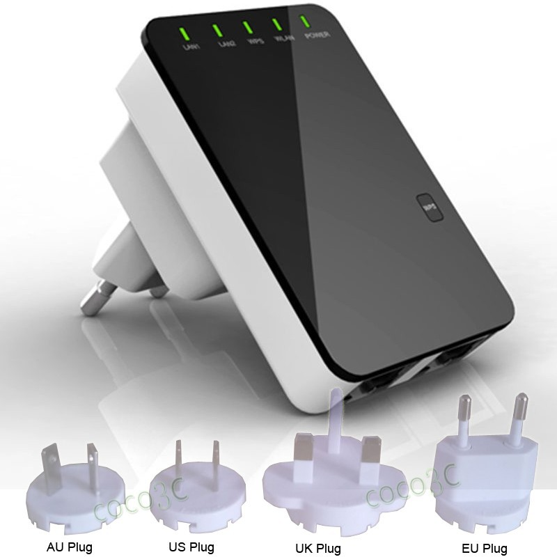 300Mbps Wireless Wifi Repeater Network Router Range Expander 7