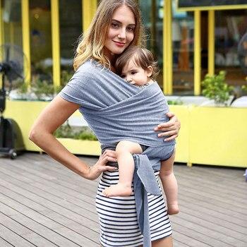 2019 portabebés Sling para recién nacidos suave envoltura para bebés transpirable asiento para el bebé amamantar nacimiento cómodo cubierta de lactancia