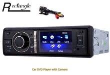 Pojedyncze Din 3 cal 12 V Car Radio Audio Stereo USB/SD/Nadajnik FM AUX Odtwarzacz DVD z IR Bezprzewodowy Pilot Zdalnego Sterowania MTK System