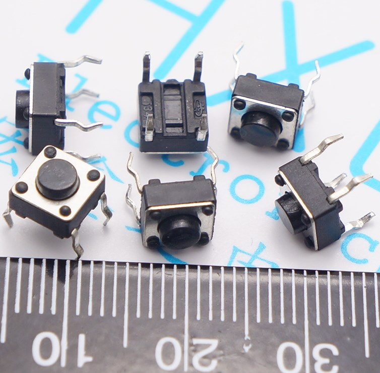 Tact Switch 6*6*4.3/5/6/7/8/9/9.5/10/11/13/14mm DIP Tact Switch legs small button for Induction Cooker marumi mc close up 1 55mm