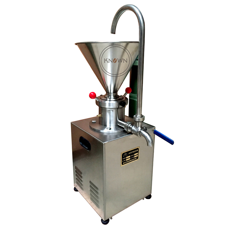 KN C60 superfine grinder colloid mill for grinding chili sauce peanut butter sesame paste with 304