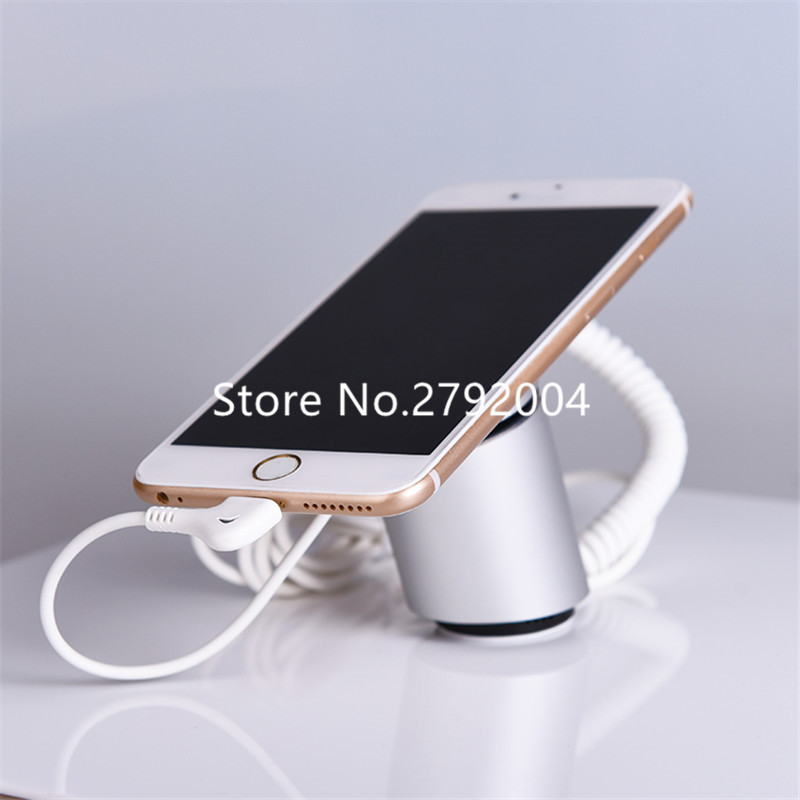 360 degree rotate mobile tablet security font b alarm b font display holder stand for pad