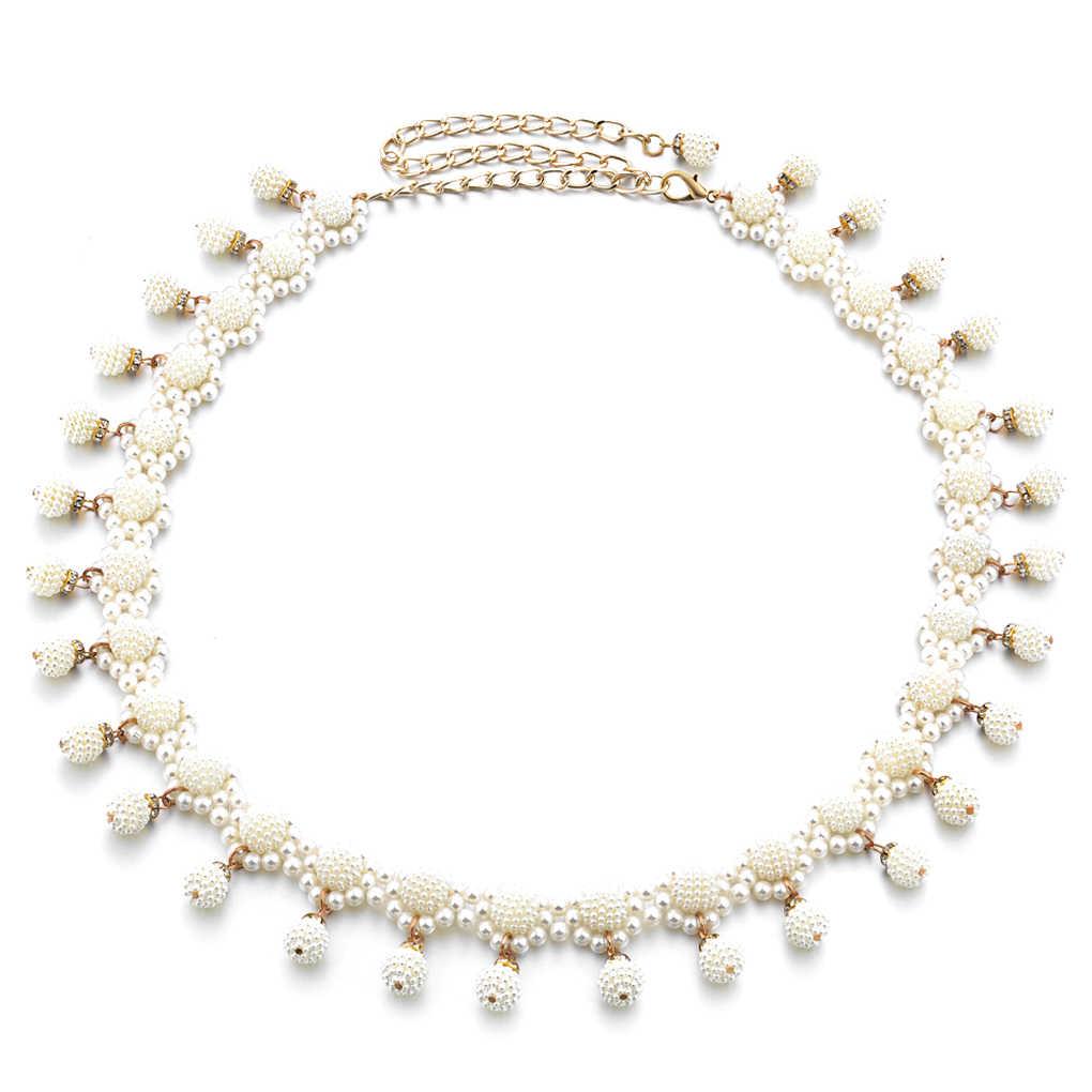 NEUE Frauen Erwachsene Kinder Perlen Bauchtanz Gürtel Tägliche Hochzeit Kleid Schärpe Bauchtanz Taille Kette