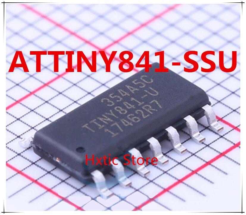 NEW 10PCS/LOT ATTINY841-SSU ATTINY841 SOP-14 IC