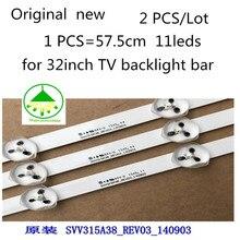 "2piece/lot Original new TV LED backlight strip SVV315A38_REV03_140903 VES315WNDS 2D N03 FOR 32"" TX 32C300B Free shipping"