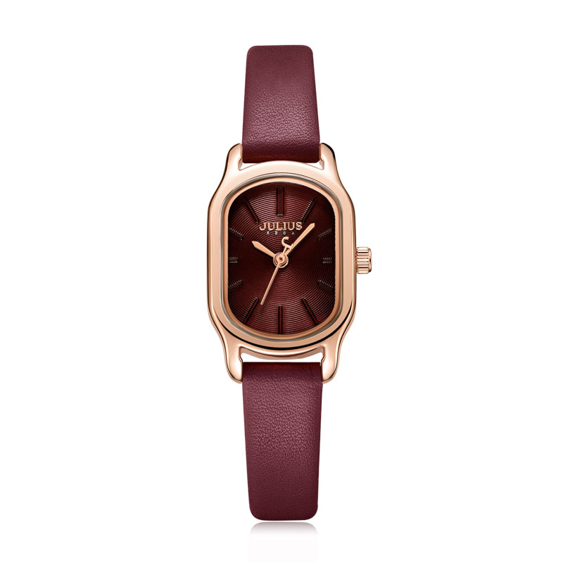 Julius Watch Oval Elegant Dress Watch for Women Watch Fashion Luxury Brand Lady Crystal Watch Reloj Mujer Baratos JA-1112
