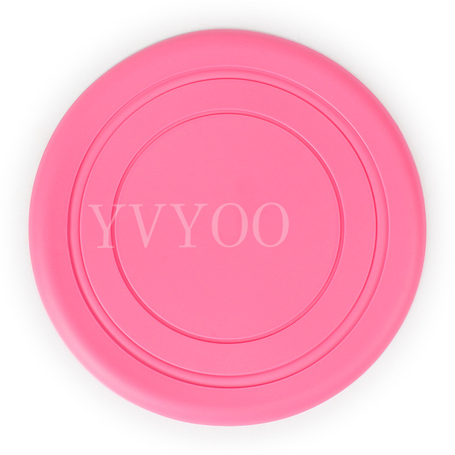 1Pcs Dog Silicone Frisbee pet Dog Toy  training supplies Flying Discs Resistant to bite can be folded pet supplies