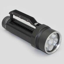 Diving Light 6 x Cree XM-L2 LED Scuba Diving Flashlight Light Waterproof Underwater 100M Torch Use 32650 Battery