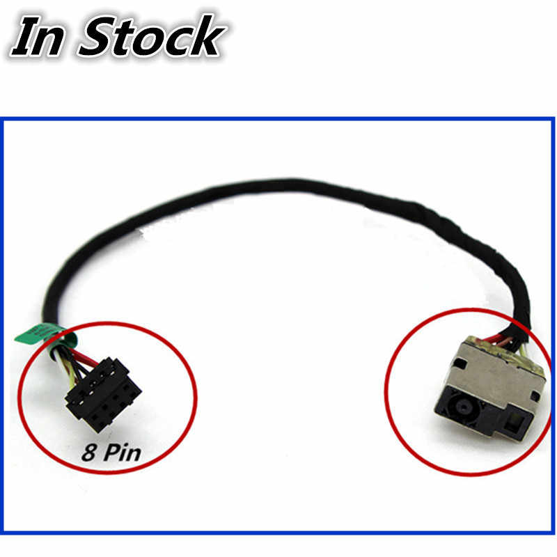 GinTai DC Jack Power with Cable Socket Plug Charging Port Replacement for HP Chromebook 15-ab142cy 15-ab143cy 15-ab144cy