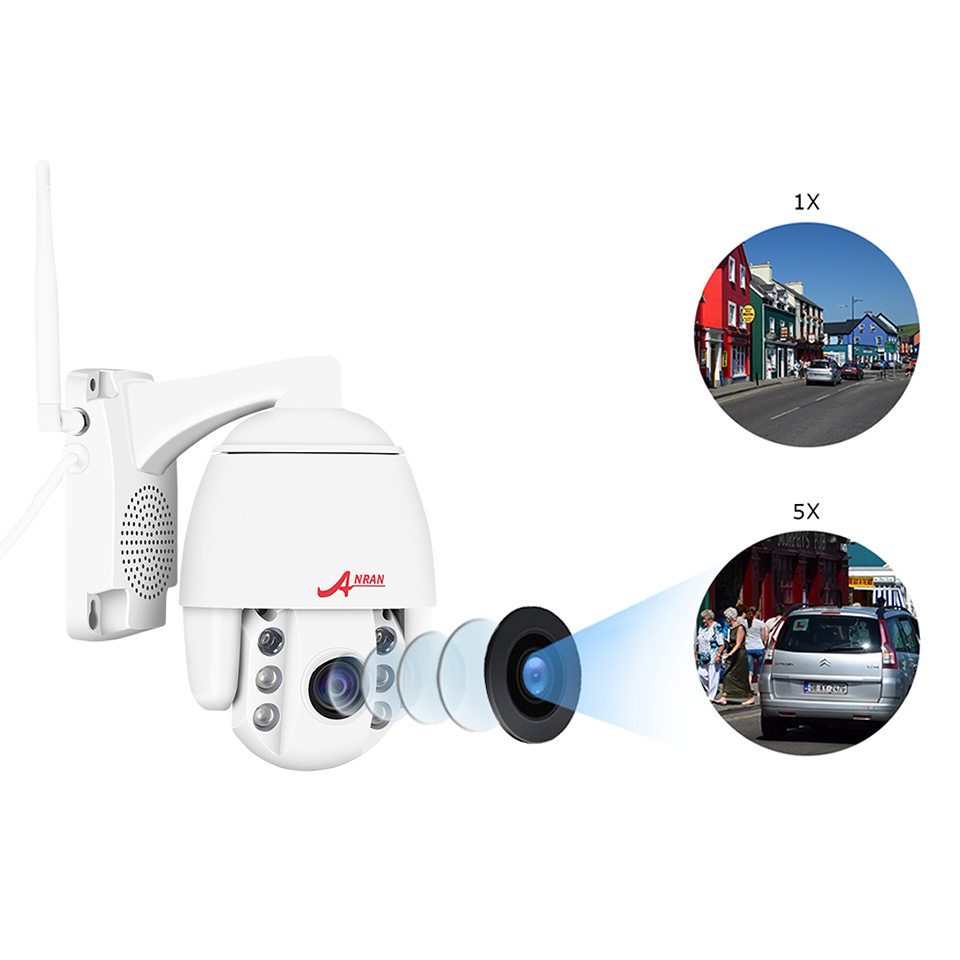Image 4 - ANRAN IP Camera 1080P HD PTZ Network Camera Home Video Surveillance Camera 2MP HD CCTV Camera IP Support Onvif-in Surveillance Cameras from Security & Protection