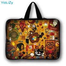 7 10 12 13 14 15 17 Tablet Bag Mini PC cover Laptop Sleeve 9.7 10.1 11.6 13.3 15.6 17.3 Computer protective case Handbag LB-3039 fire maple fms 300t hornet