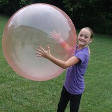Синий и красный цвет большой шарик пузыря(без насоса зарядки без цветной коробки) большой шарик детская игрушка wuble шарик пузыря