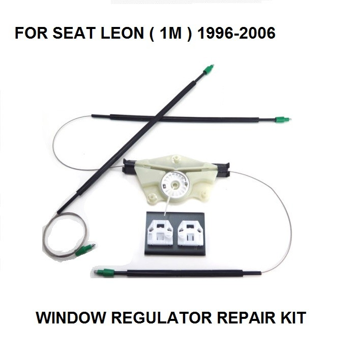 ELECTRIC WINDOW REGULATOR FOR SEAT LEON ( 1M ) WINDOW REGULATOR REPAIR KIT FRONT RIGHT SIDE 1996-2006