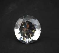 Free Shipping 80mm Clearly Color High Quality K9 AAA Crystal Glass Diamond 1pcs Lot For Wedding