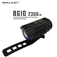 BG10 led flashlight imalent 26350 the 360 degree battery indicators lanterna imalent bike lampka rowerowa c ree cycling light