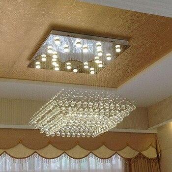 คริสตัลคุณภาพสูงโคมระย้าโคมไฟคริสตัลห้อยรอบห้องนั่งเล่นโคมระย้าล็อบบี้ของโรงแรมแสงโคม...