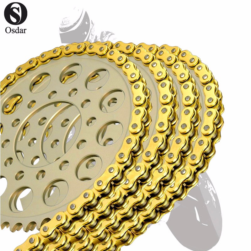 Motorcycle Drive Chain O-Ring 428 L136 For SUZUKI DR-Z125 03-12 GN125 92-98 GN125 99-00 GN125E -94 GS125E 82- RA125 84- image