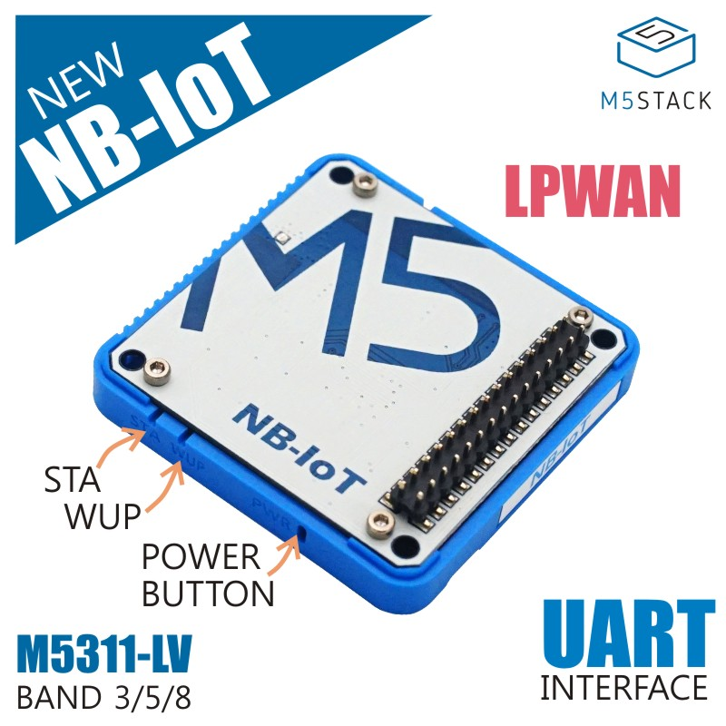 M5Stack Official NB-IoT Module M5311 Wireless Communication Module