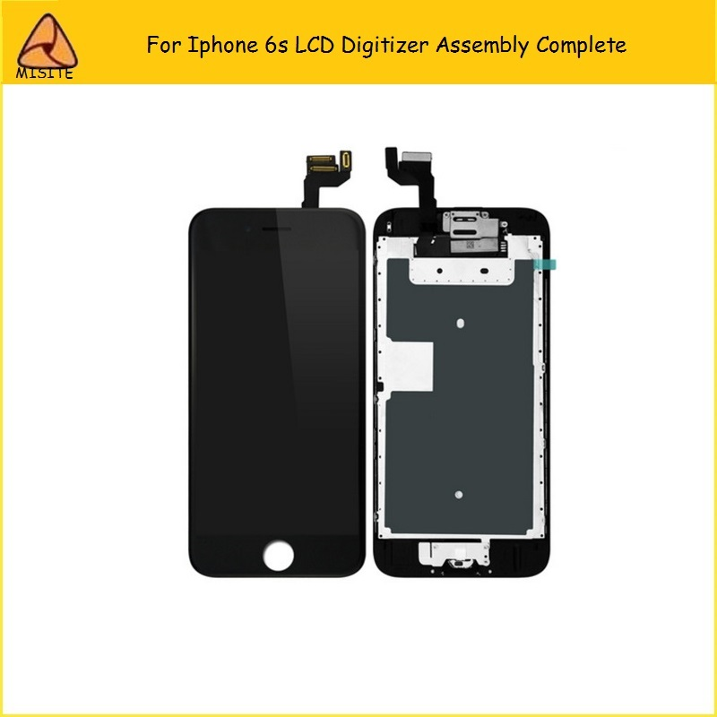2PCS/LOT New Screen LCD For iPhone 6S Full Set Complete Screen LCD Digitizer Assembly+Front Camera+Home Button Flex image