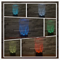 Children's Day New 2017 3D Tooth LED Night Light Colorful Kids Baby Bedroom Atmosphere Touch Table Cool Lamp as gift for dentist
