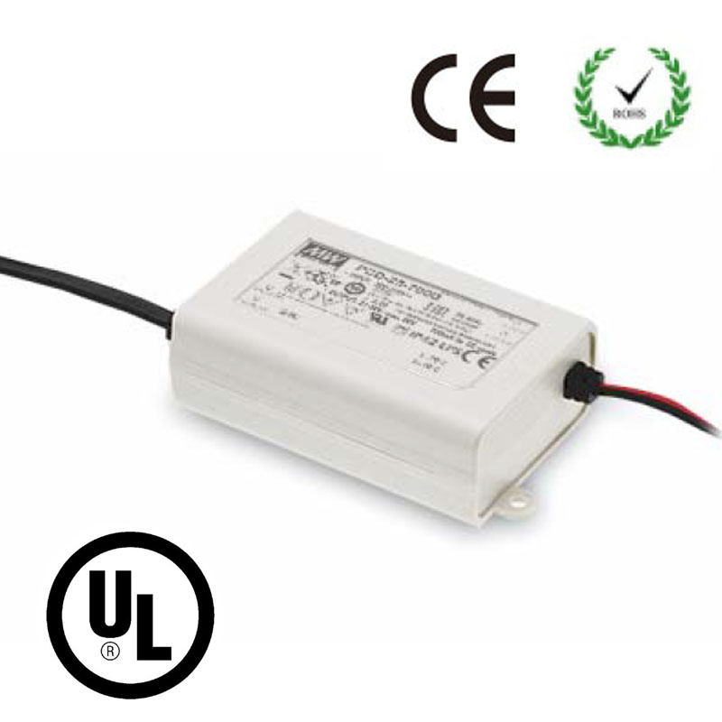 25W Triac Dimmable LED Driver Constant Current DC 350/700/1050/1400mA Power Supply Lighting Transformer UL CE RoHS Regulator 60w 80w constant voltage triac dimmable led driver waterproof transformer ac180 250v 90 130v to12 24v power supply for lighting