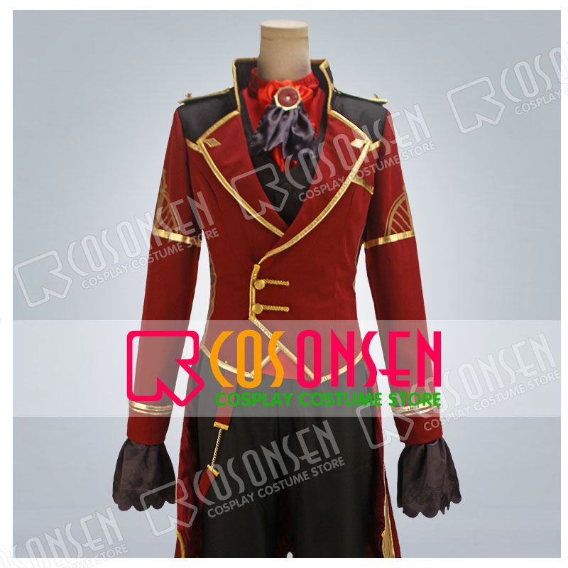COSPLAYONSEN Ensemble Stars Valkyrie Itsuki Shuu Unit Song CD 2nd Vol.07 Miwaku Geki Cosplay Costume Full Set