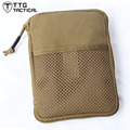 TTGTACTICAL Cordura Nylon MOLLE Military Organizer Bag Military Pocket Wallet Combat Mini Pocket Pack Compact BDU Organizer