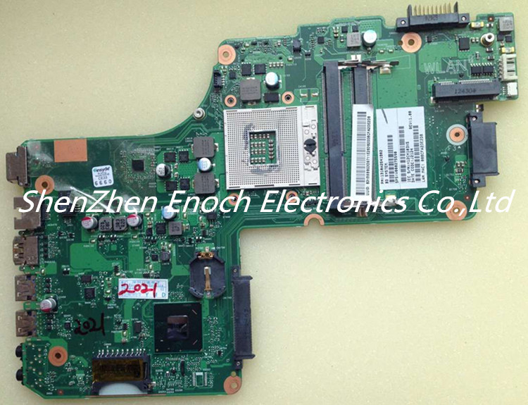 V000275590 for Toshiba satellite C850 C855 L850 L855 Laptop motherboard Integrated  DK10F-6050A2541801-MB-A02stock No.999