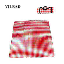 VILEAD 5 Colors 200*200 Picnic Camping Mat Outdoor Blanket Waterproof Plus Size Beach Mattress Baby Climb Folding Portable Pic