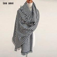 f7eb10c23a5a 2018 Marque De Luxe Écharpe pour Femmes plaid bufandas mujer noir Poule écharpe  chaude femmes d hiver foulards châles Couverture.