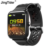 JingTider DM06 Smart Watch IP68 Waterproof Activity Fitness Tracker Heart Rate Monitor Smartwatch Alarm Calories For IOS Android