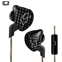 KZ ZST In Ear Earphone 1DD 1BA Hybrid Drive HIFI Earphone Running Sport Earphones Monito Earphone