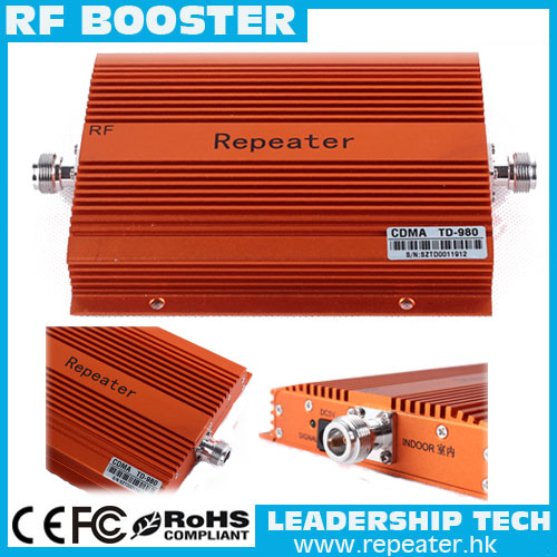 RF 70dB LTE UMTS GSM CDMA 850MHz 2G 3G 4G Wireless Mobile Phone Repeater Signal Booster CDMA 800Mhz Cell Phone Repeater Booster
