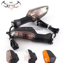 Para KAWASAKI Z125 Z250 Z300 Z750 Z800 Z1000 VERSYS 650/1000 ER-6N ZRX1200 Indicador de luz intermitente para motocicleta