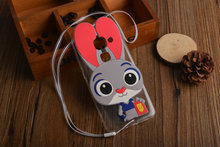 3D Rabbit Cute Cartoon Soft TPU Silicone Cover Case For LeEco Letv Le 1s X500 Le
